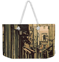 Vintage Bologna Italy Weekender Tote Bag