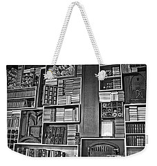 Vintage Bookcase Art Prints Weekender Tote Bag