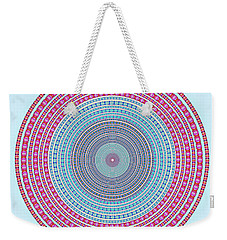 Vintage Color Circle Weekender Tote Bag