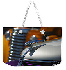 Vintage Inspiration Weekender Tote Bag by Vicki Pelham