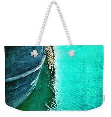 Vintage Ship Weekender Tote Bag by Jill Battaglia