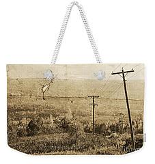 Vintage View Of Ontario Fields Weekender Tote Bag