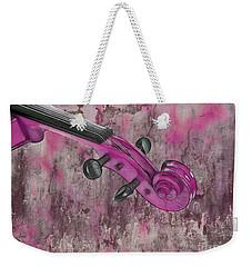 Violinelle - Pink 03b2 Weekender Tote Bag