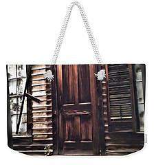Virginia City Ghost Town Door I Weekender Tote Bag