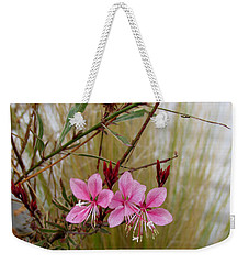 Visiting The Pink Guara Weekender Tote Bag