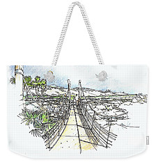 Wadi Crossing Weekender Tote Bag