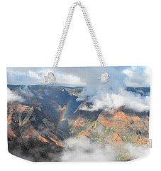 Waimea Canyon Rainbow Weekender Tote Bag