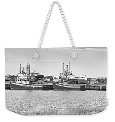 Waiting Weekender Tote Bag by Eunice Gibb