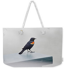 Weekender Tote Bag featuring the photograph Waiting by Julie Palencia