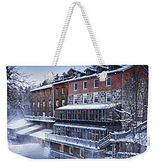 Weekender Tote Bag featuring the photograph Wakefield Inn by Eunice Gibb