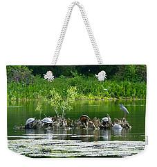 Wakulla Springs Wildlife Weekender Tote Bag