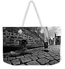 Weekender Tote Bag featuring the photograph Walkabout by Dan Wells
