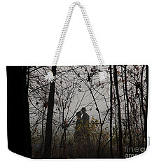 Walking To Church Weekender Tote Bag