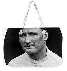 Weekender Tote Bag featuring the photograph Walter Johnson - Washington Senators Baseball Player by International  Images