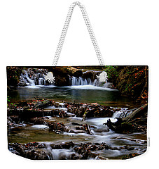 Weekender Tote Bag featuring the photograph Warm Springs by Karen Harrison