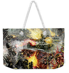 Wars Are Designed To Destroy  Weekender Tote Bag