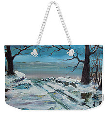 Washoe Winter Weekender Tote Bag