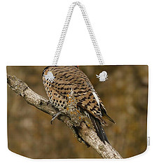 Weekender Tote Bag featuring the photograph Watchful Eye by Elizabeth Winter