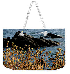 Weekender Tote Bag featuring the photograph Watching The Sea 1 by Pedro Cardona