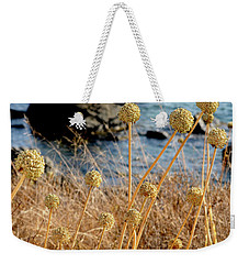 Weekender Tote Bag featuring the photograph Watching The Sea 2 by Pedro Cardona