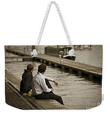 Watching The World Go By Weekender Tote Bag