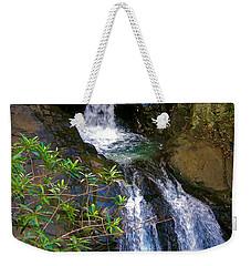 Waterfall In The Currumbin Valley Weekender Tote Bag
