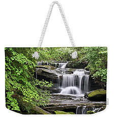 Waterfall Near Mabbitt Spring Weekender Tote Bag
