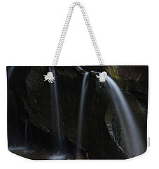 Weekender Tote Bag featuring the photograph Waterfall On Emory Gap Branch by Daniel Reed