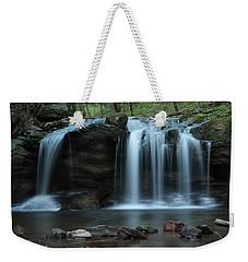 Waterfall On Flat Fork Weekender Tote Bag by Daniel Reed