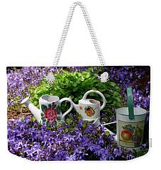 Watering Cans And Campanula Weekender Tote Bag