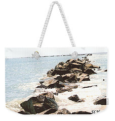 Waterway Weekender Tote Bag