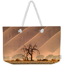 Wave Tree Weekender Tote Bag