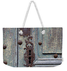Weekender Tote Bag featuring the photograph Weathered by Lainie Wrightson