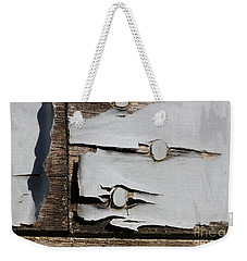 Weekender Tote Bag featuring the photograph Weathered by Todd Blanchard