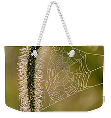 Weekender Tote Bag featuring the photograph Webbed Tail by JD Grimes
