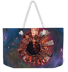 Wee Manhattan Planet Weekender Tote Bag by Nikki Marie Smith