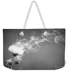 Weekender Tote Bag featuring the photograph Weed In The Wind by Deniece Platt