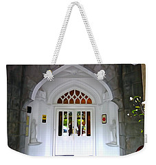 Weekender Tote Bag featuring the photograph Welcome To The Manor by Charlie and Norma Brock