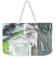 Weekender Tote Bag featuring the painting Wellers Carriage House 1 by Yoshiko Mishina