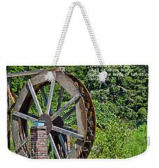 Wells Of Salvation Weekender Tote Bag