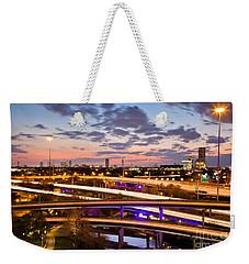 West Houston Around Dowtown Weekender Tote Bag