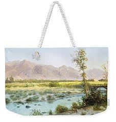 Western Landscape Weekender Tote Bag