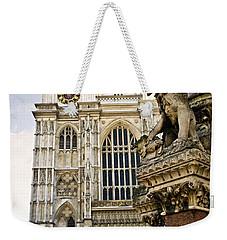 Westminster Abbey Weekender Tote Bag by Elena Elisseeva