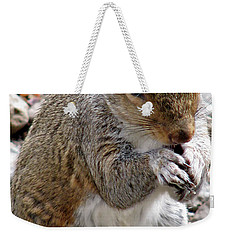 Weekender Tote Bag featuring the photograph Where Are The Peanuts by Rory Sagner