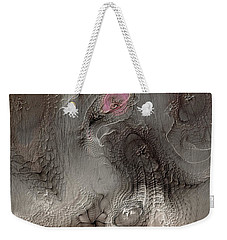 Weekender Tote Bag featuring the digital art Whims Within by Casey Kotas