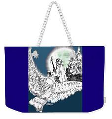 Whisper In The Wind Weekender Tote Bag by Seth Weaver