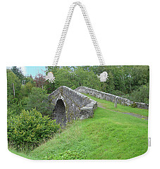 White Bridge Scotland Weekender Tote Bag