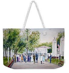 White City Weekender Tote Bag by Clara Sue Beym