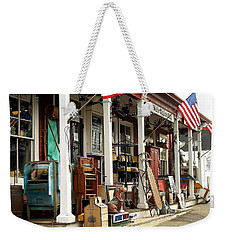 White Elephant Weekender Tote Bag