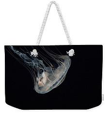 White Jelly In Black Space Weekender Tote Bag